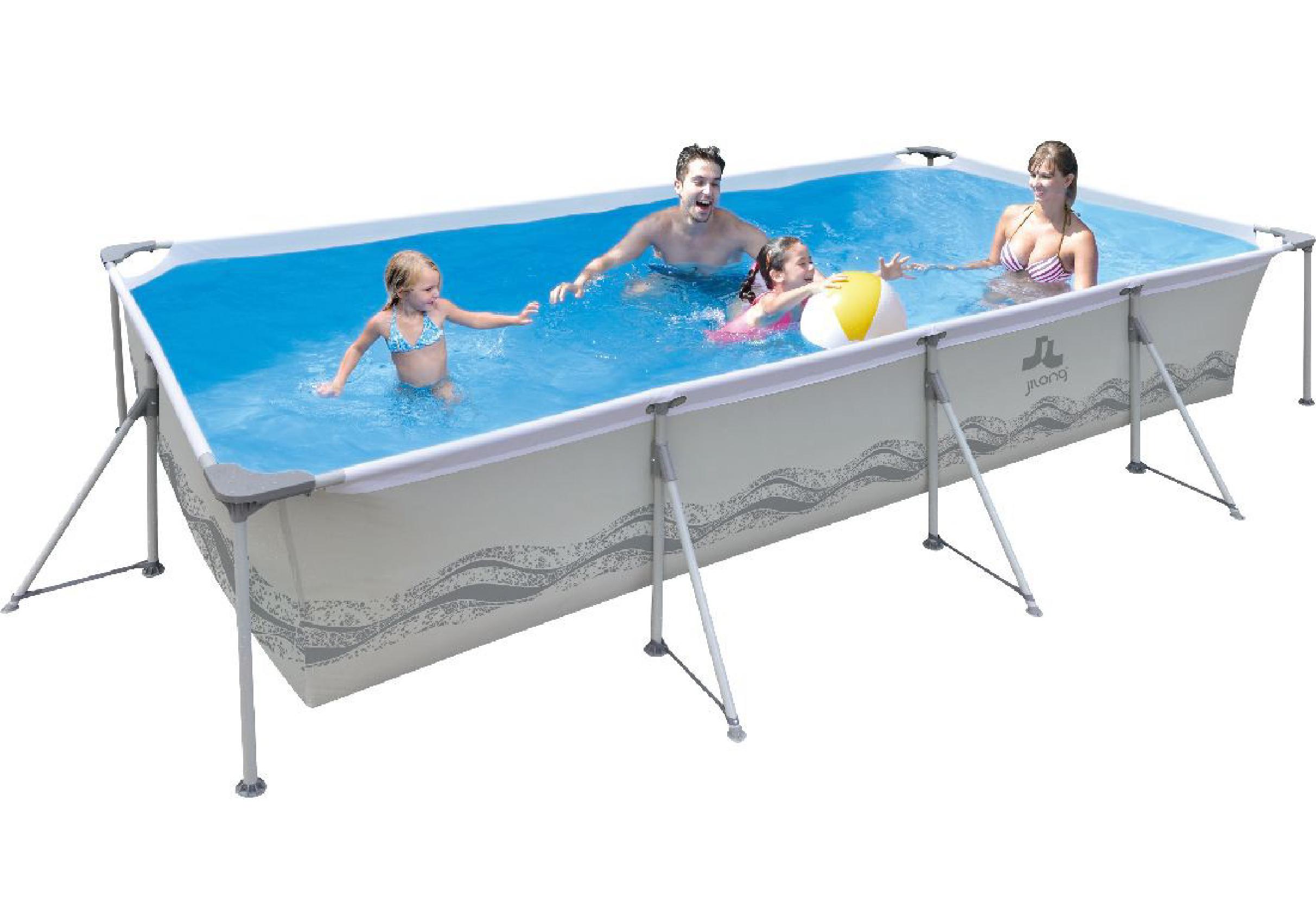 piscina de plastico retangular 8000 litros