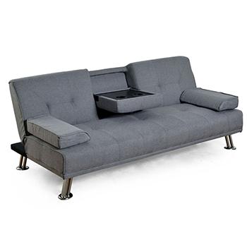 Futon cama tela tizi deco dfr1000c hu for Futon cama precio